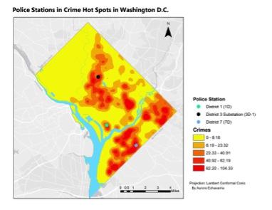 Washington DC Crime Map Keyword Data - Related Washington DC Crime on